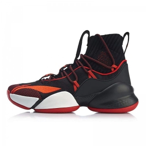Giày bóng rổ Li-Ning Power V Playoff C.J. McCollum Black Red