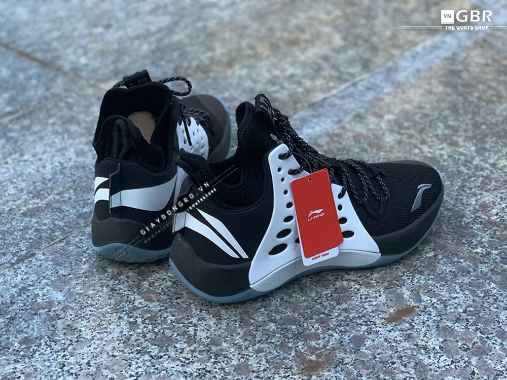 Li-Ning New Sonic VII - Black white