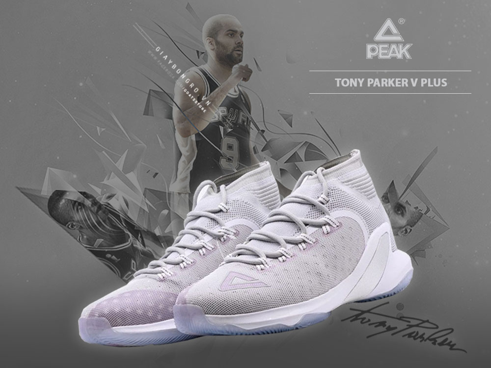 Peak Tony Parker V Plus Grey