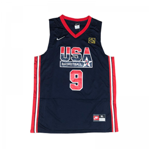 Áo Jersey Team USA Blue - Michael Jordan