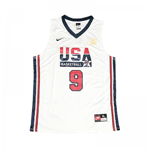 Áo Jersey Team USA White - Michael Jordan