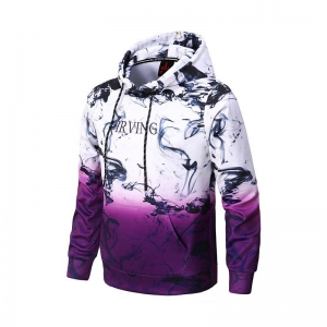 Áo Hoodies Kyrie Irving White Purple