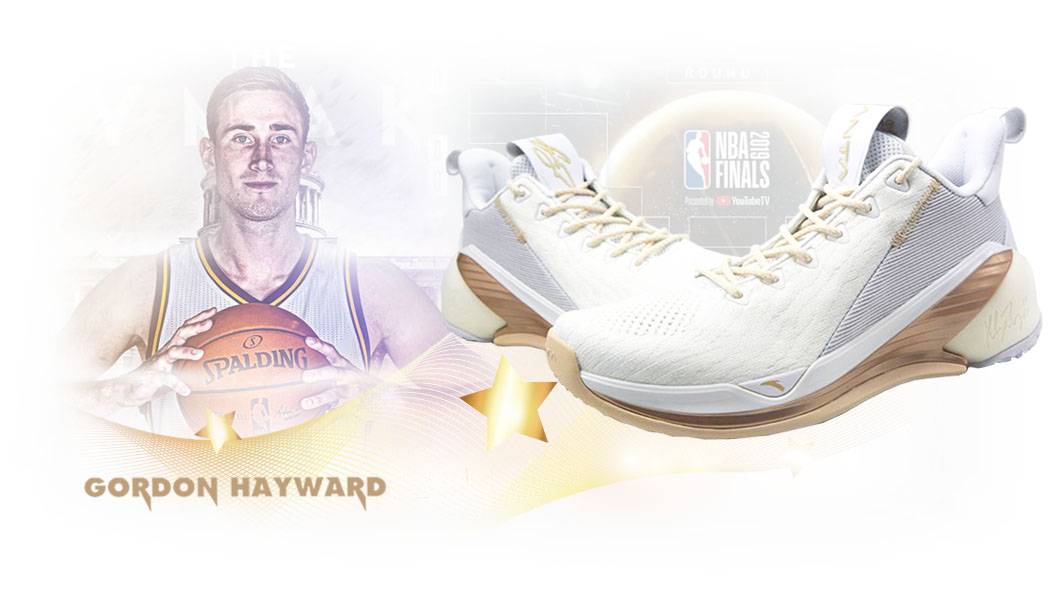 Giày bóng rổ Anta KT4 Low Gordon Hayward Finals Home