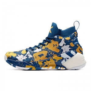 Giày bóng rổ Anta KT4  Klay Thompson BHM Shock The Game Blue/Yellow