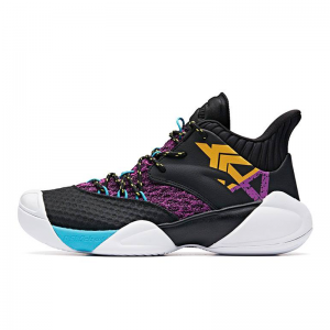 Giày bóng rổ Anta Shock The Game 2019 Black-Purple-Yellow