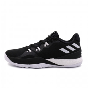 Giày bóng rổ Adidas Crazy Light Boost Black White