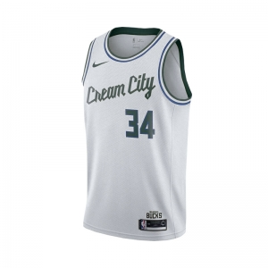 Áo NBA Milwaukee Bucks Cream City