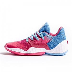Giày bóng rổ adidas Harden Vol.4 Bright Cyan Real Pink Cloud White