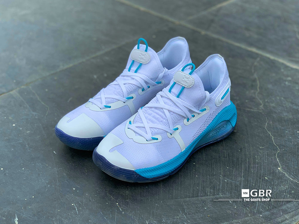brand new 0ea3f ecfa5 Giày bóng rổ Curry 6 Christmas