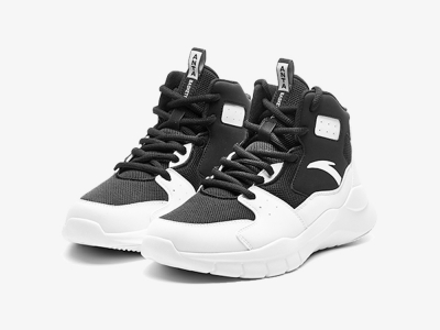 Anta Kids Black White