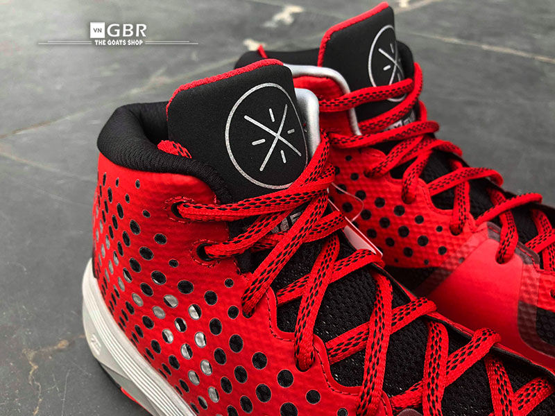 Li Ning Wade All Day Red